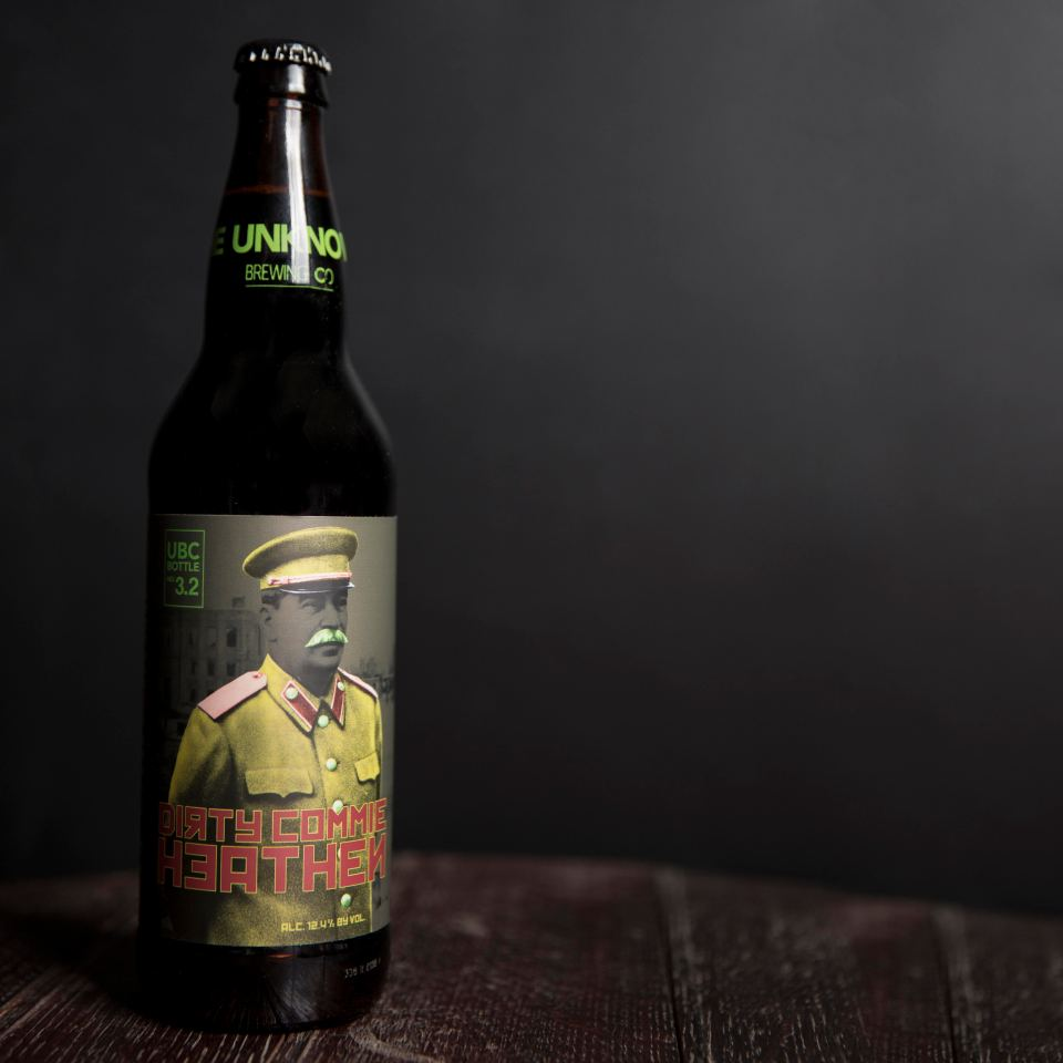 Unknown Brewing Dirty Commie Heathen