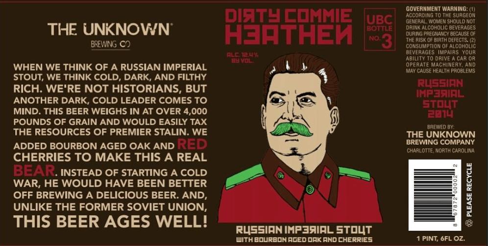 Unknown Dirty Commie Heathen