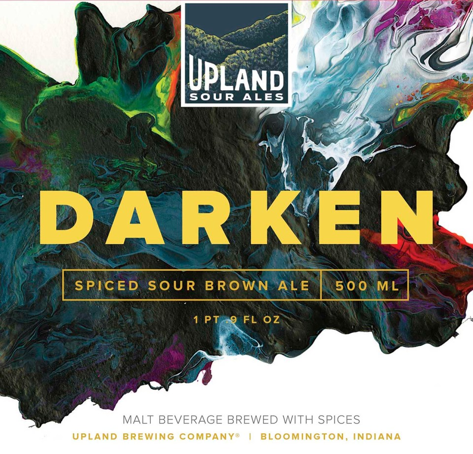 Upland Darken Spiced Sour Brown Ale