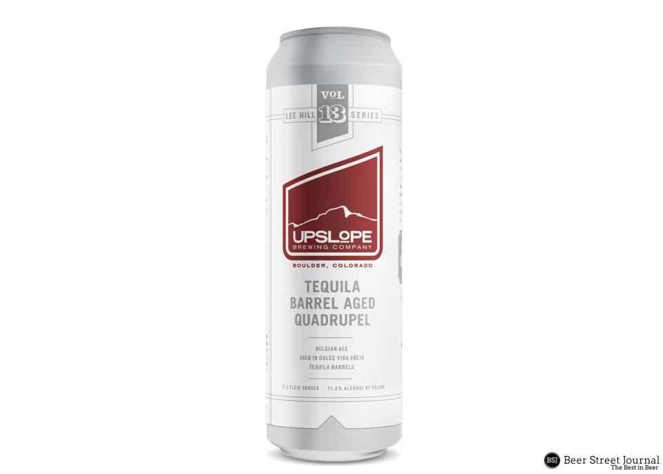 Upslope Tequila Barrel Aged Quad