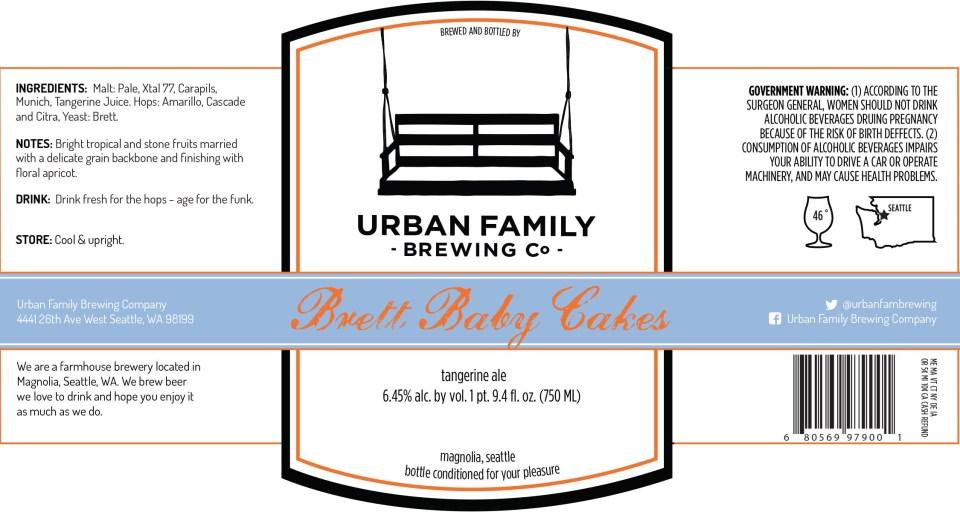 Urban Family Brewing Baby Brett Cakes