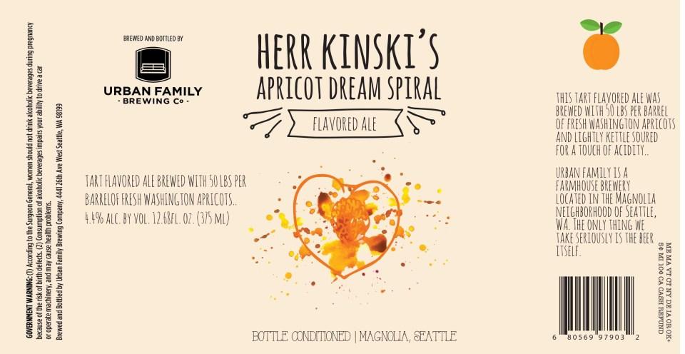 Urban Family Her Kinks Apricot Dream Spiral