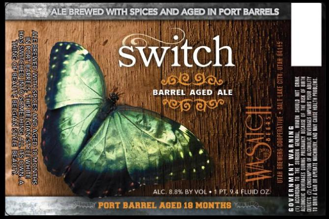 Wasatch Switch Barrel Aged Ale