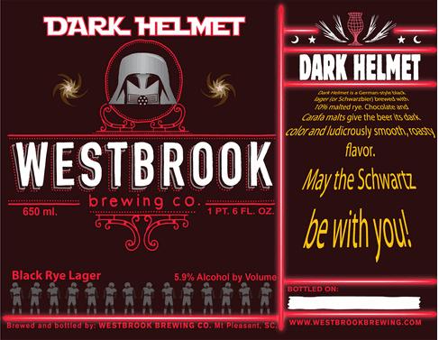 Westbrook Dark Helmet