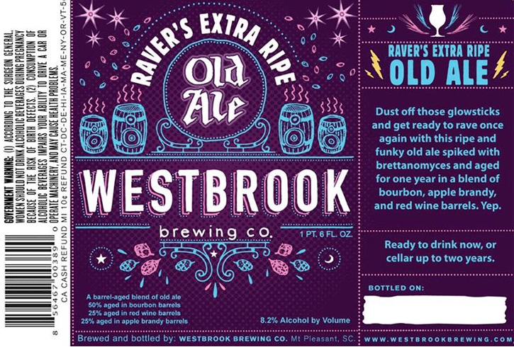 Westbrook Raver's Extra Ripe Old Ale