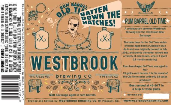Westbrook Rum Barrel Old Time