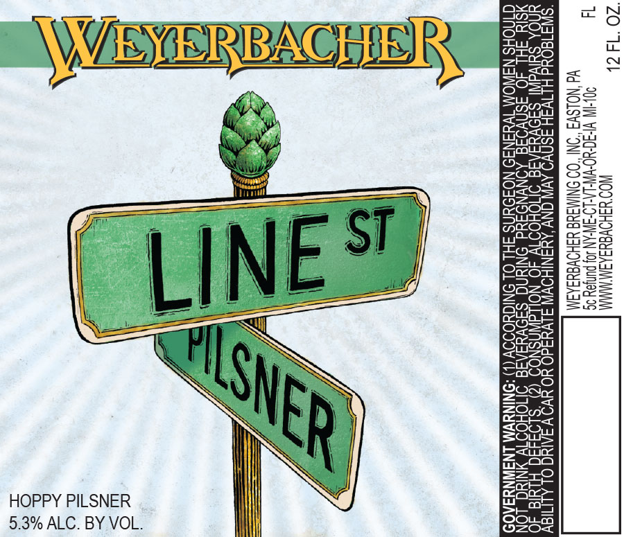 Weyerbacher Line St Pilsner