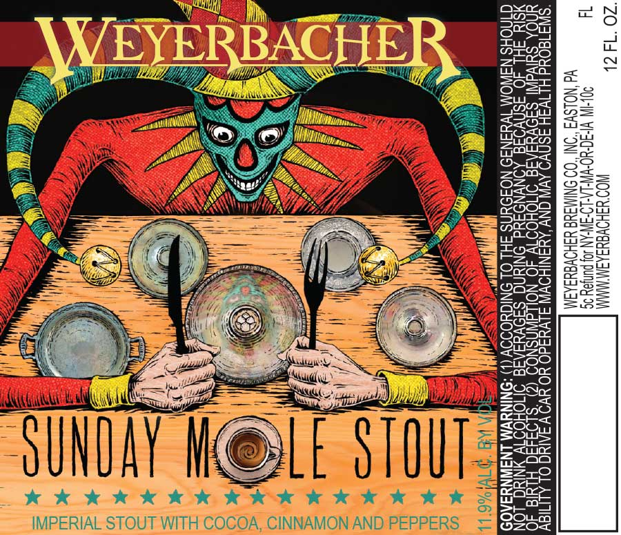 Weyerbacher Sunday Mole Stout