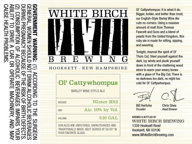 White Birch Ol' Cattywhompus