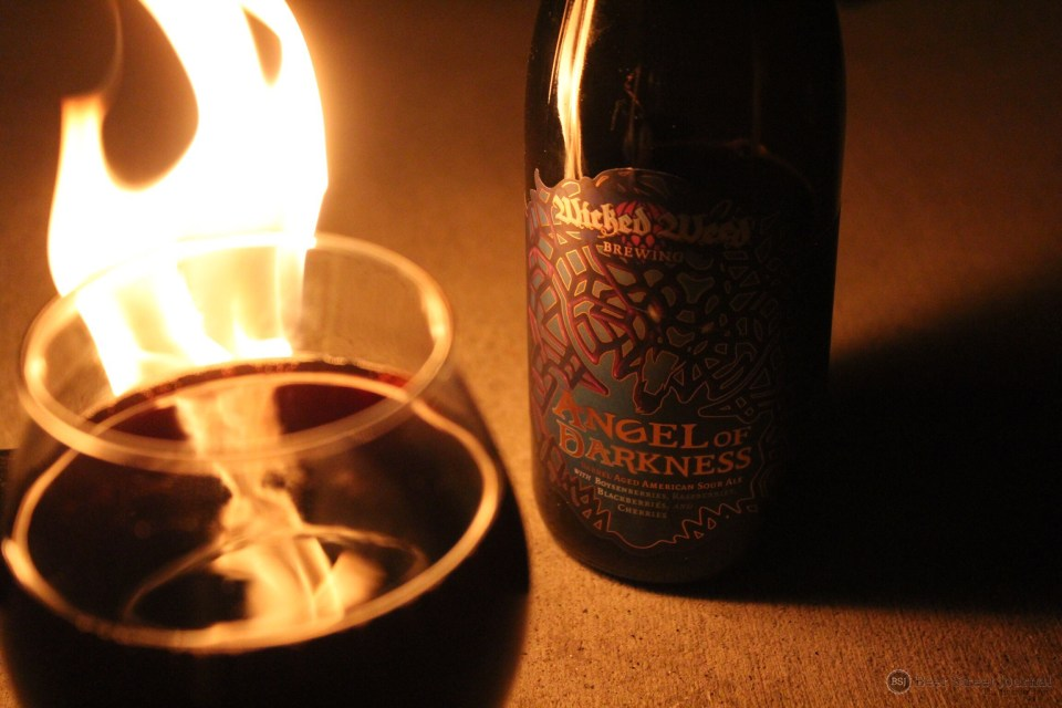 Wicked Weed Angel of Darkness bottle
