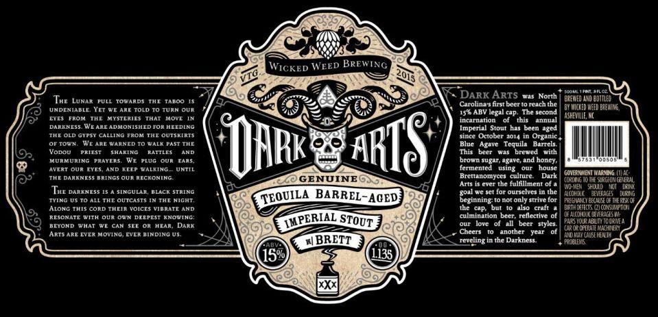 Wicked Weed Dark Arts 2015