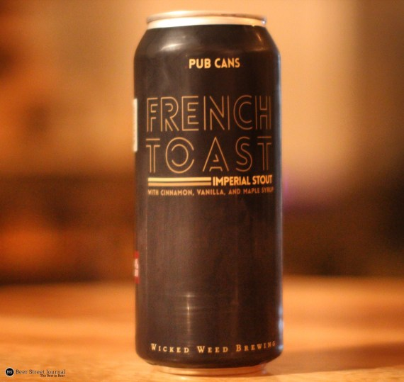 Wicked Weed French Toast cans
