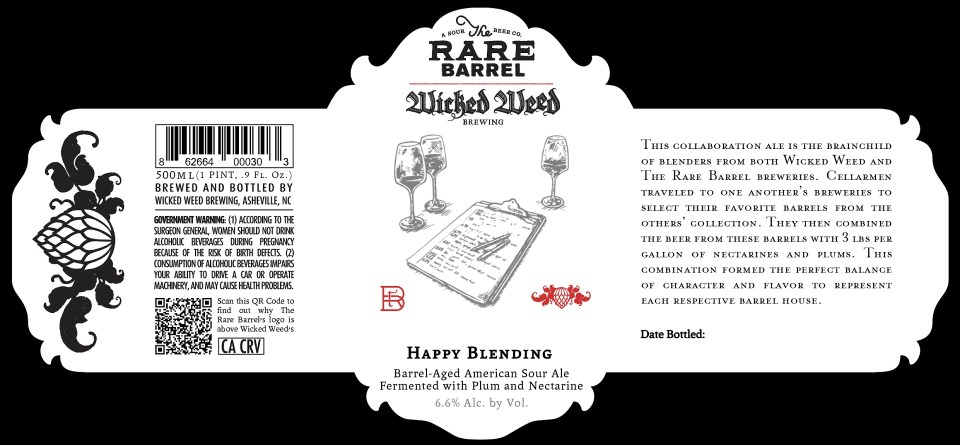 Wicked Weed Happy Blending