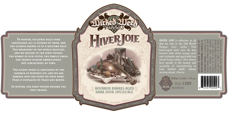 Wicked Weed Hiver Joie
