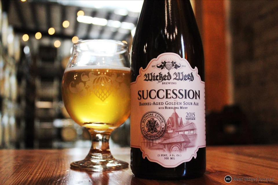 Wicked Weed Succession bottle