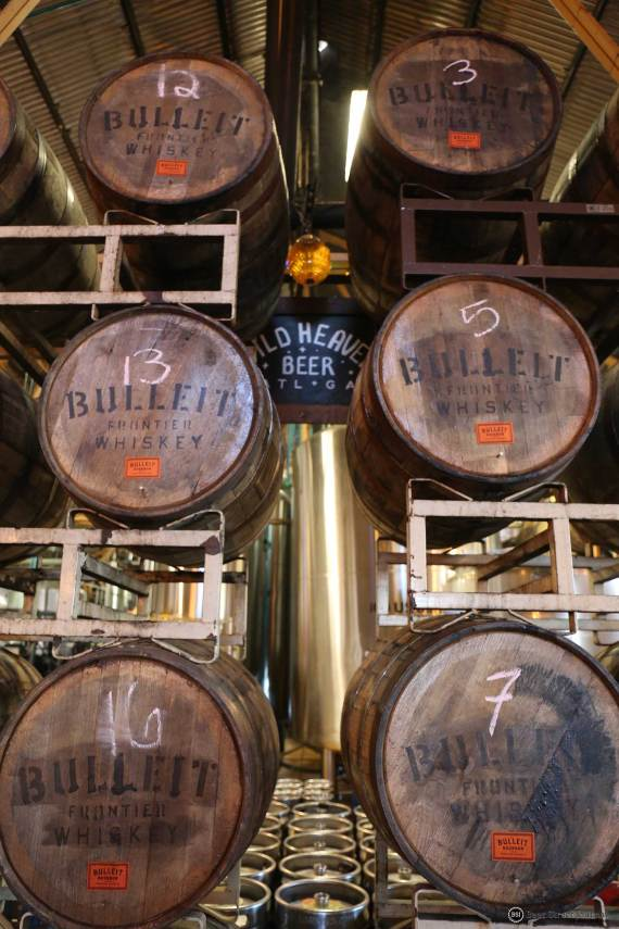 Wild Heaven Bulleit Barrels 2021