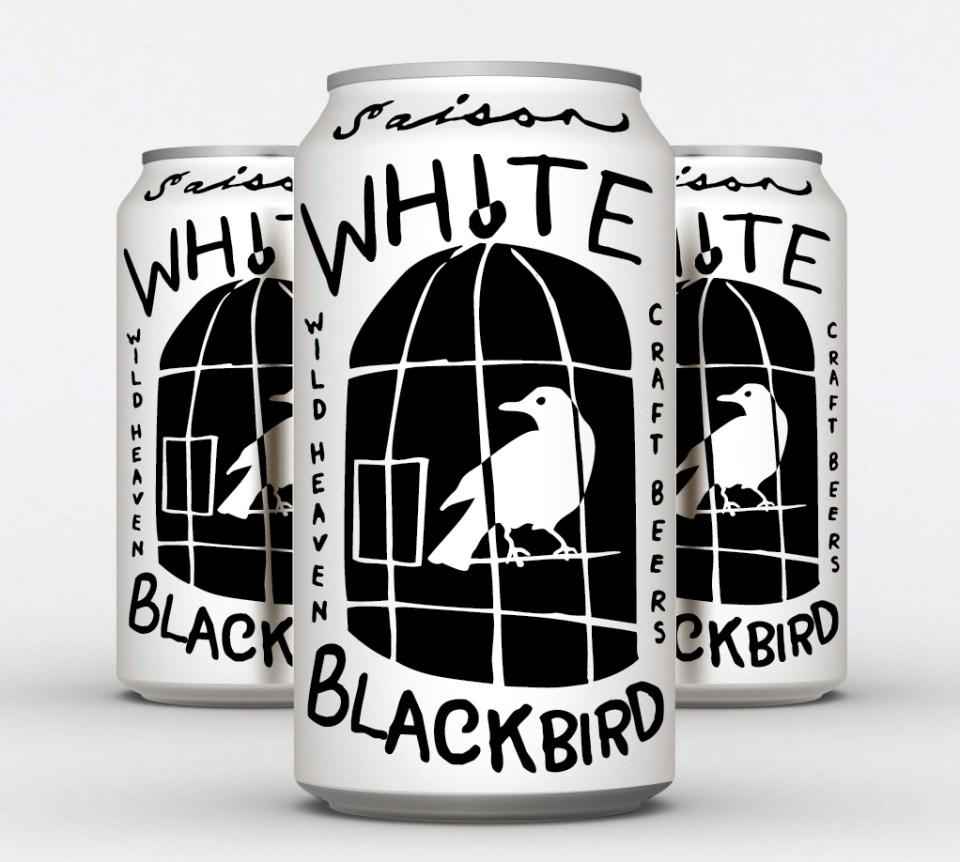 Wild Heaven White Blackbird Cans