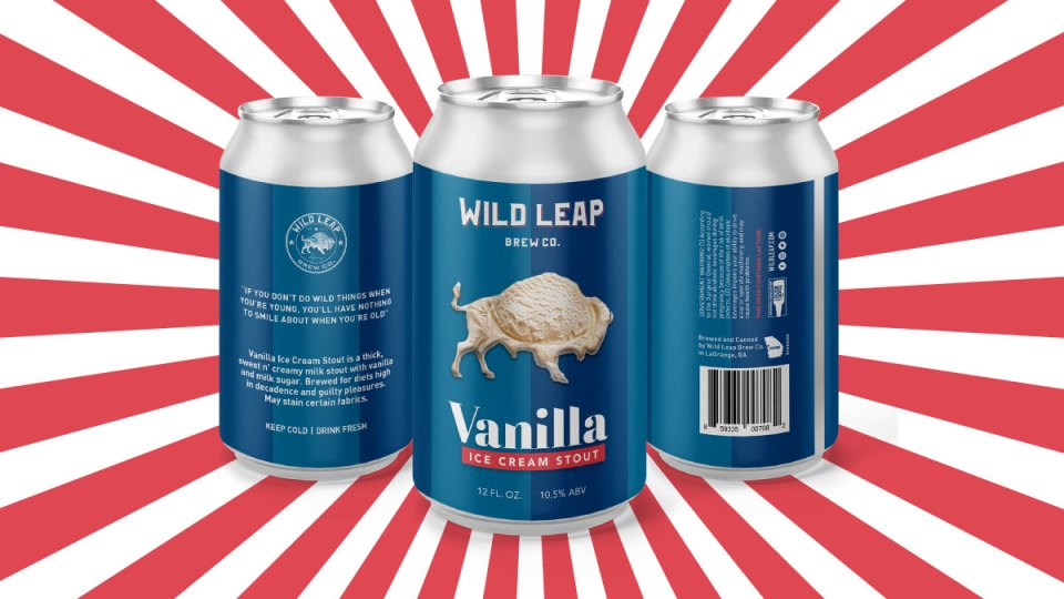 Wild Leap Vanilla Ice Cream Stout