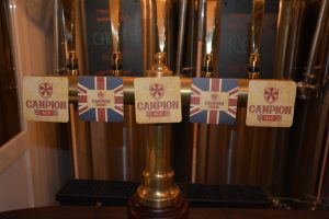 Campion Ale taps