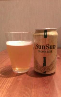 SunSun Organic Beer