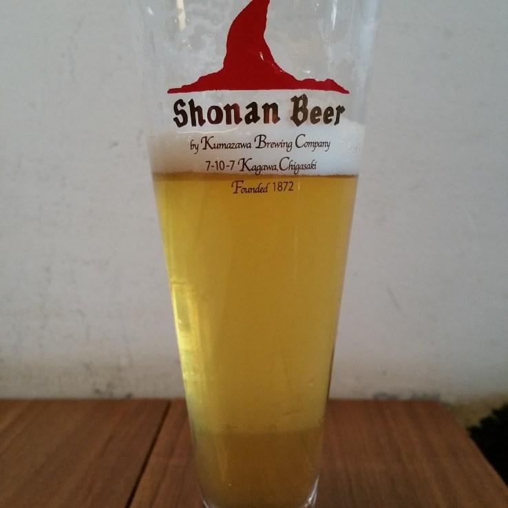 Shonan Beer Golden Ale @ Mokichi Craft Beer