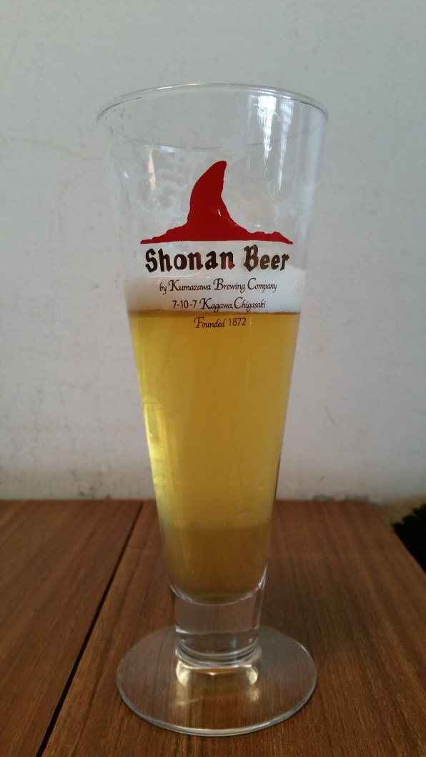 Shonan Beer Golden Ale @ Mokichi Craft Beer