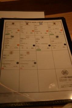 wiz craft beer and food menu 2