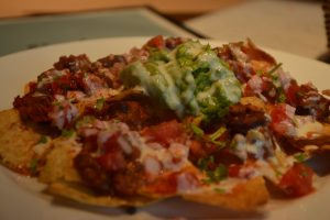 wiz craft beer and food nachos