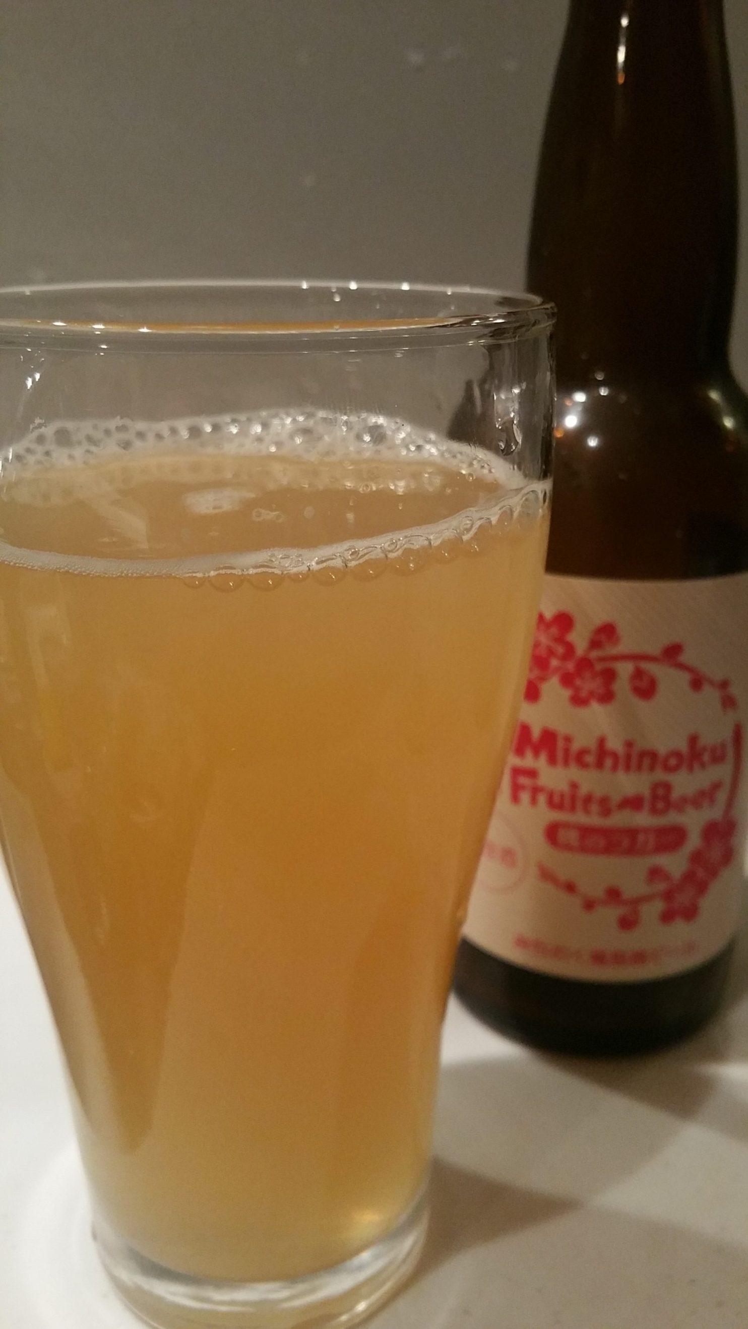 Fukushima Momo Lagerみちのく福島路ビール