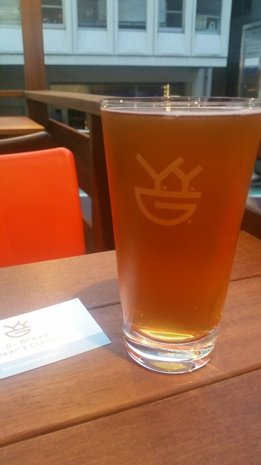 YYG Brewery and Beer Kitchen Brewery Beer 1
