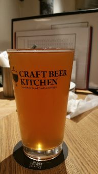 Craft Beer Kitchen Jiyugaoka Beer 1