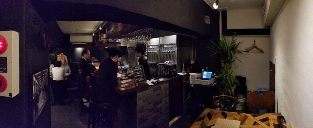 Inazuma Dining Inside イナズマダイニング店内