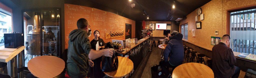 Hikawa Brewery Inside