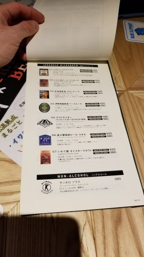 Ottotto Brewery Hamamatsucho Beer 1