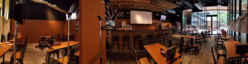Aoi Brewing and Grill Inside・アオイ ブリューイング タップアンドグリル店内