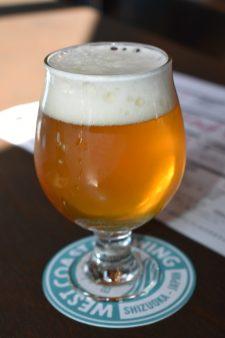 West Coast Brewing Taproom Beer 4・ウエストコーストブルーイング タップルームビール4