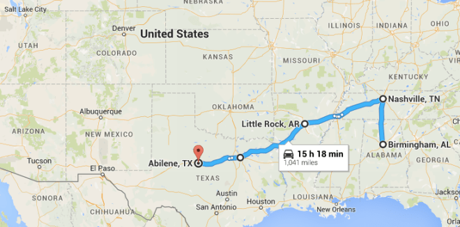 Road Trip Tennessee Arkansas And Texas