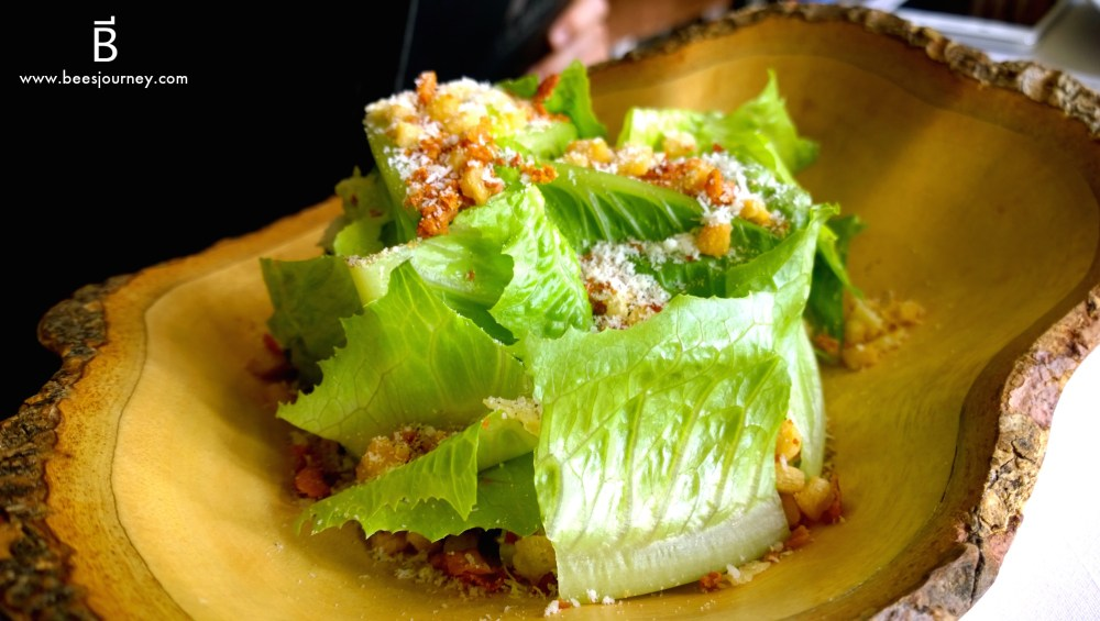 Whale's Belly Ceasar Salad
