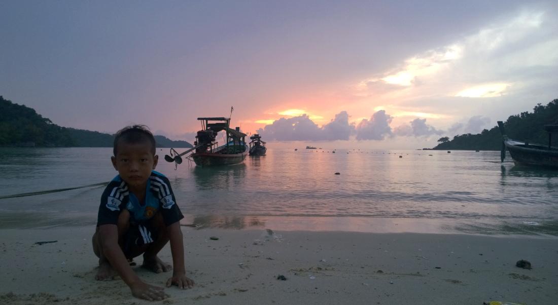Moken Village, Surin National Park Island, Thailand