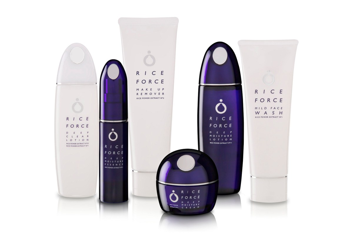 RICE FORCE PREMIUM JAPANESE SKINCARE - DEEP MOISTURE SERIES