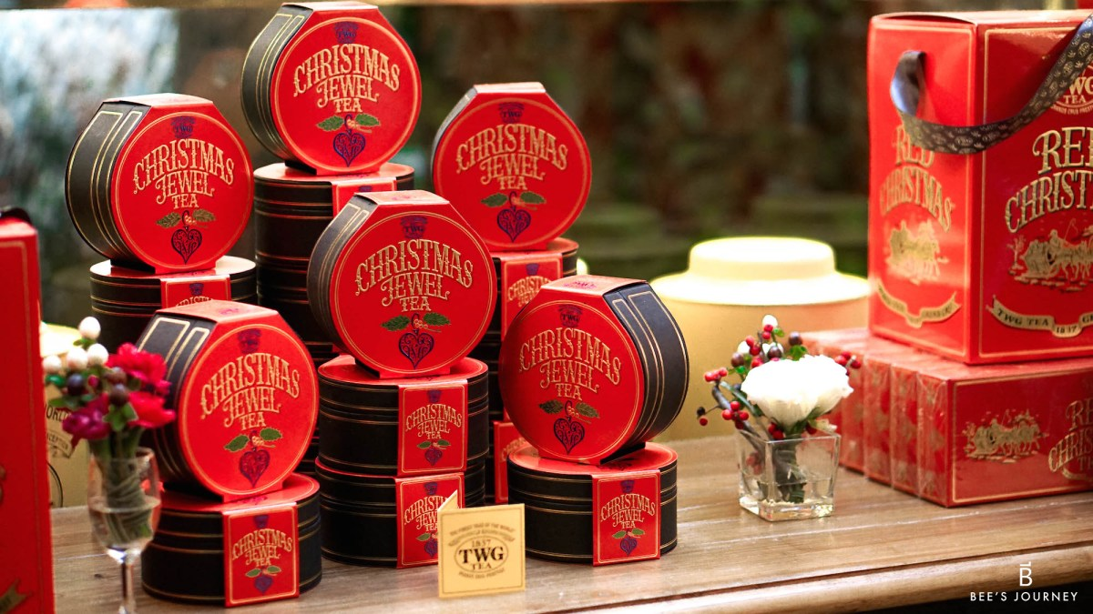 TWG Tea 5th Anniversary - Joy Of Christmas Festive Feast www.beesjourney.com | Bee's Journey - Outdoor Travel Inspiration, Luxury Hotels & Lifestyle