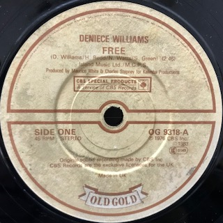 "Deniece Williams / Free (7"")"