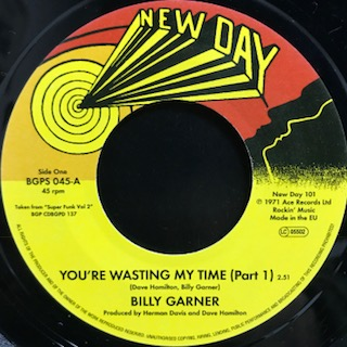 Billy Garner – You're Wasting My Time