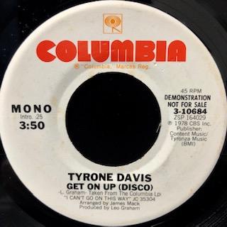 Tyrone Davis / Get On Up (Disco)