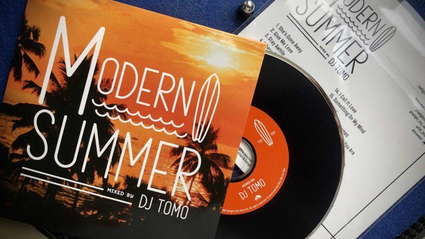 【MIX CD】DJ TOMO / MODERN SUMMER