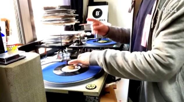 【今日のMIX】Dr. Dre「The Next Episode」のリフをターンテーブルで再現してみた