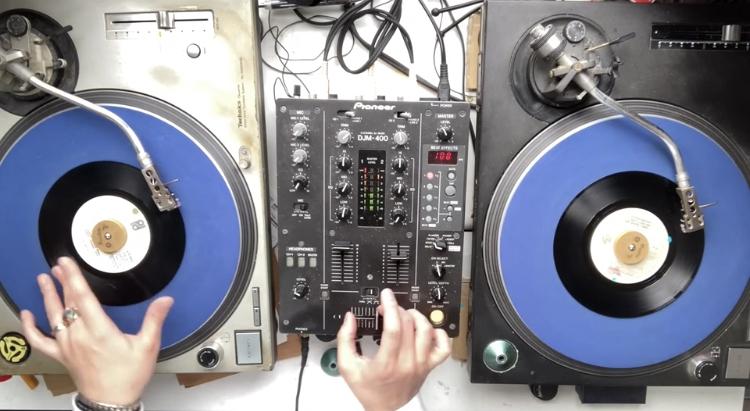 DJ MIX スクラッチ コンビネーション