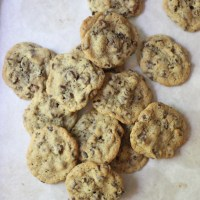 Nibby Chocolate Chip Cookies