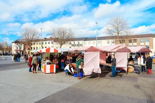 The Fringe Arts Fair at Sneinton Market on Saturday - Photo by Zac Pickin