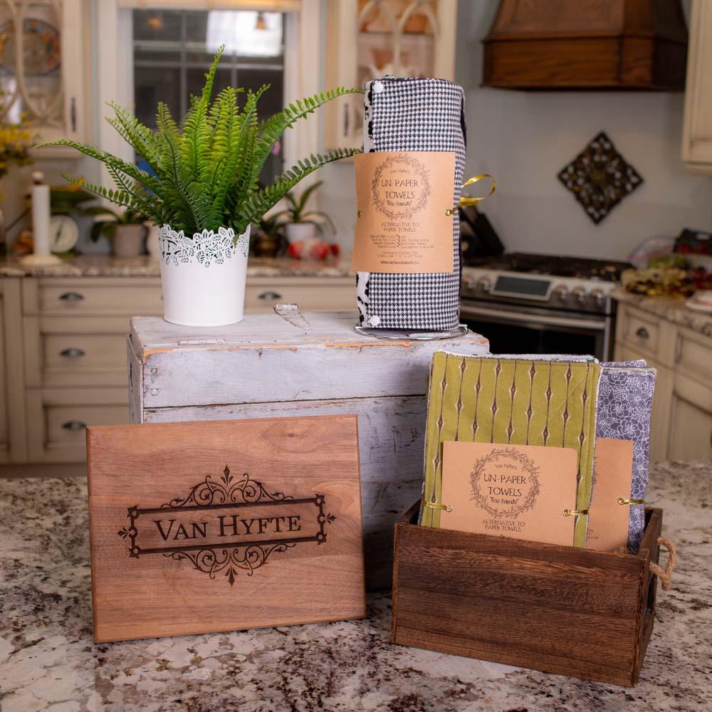 Van Hyfte Un-paper Towels!